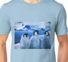Trio of Penguins Unisex T-Shirt