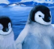 Trio of Penguins Sticker