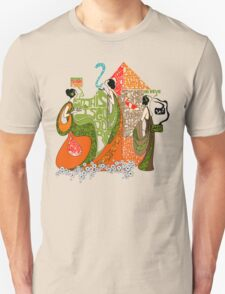 Spiders, IceCream & Morphine Unisex T-Shirt