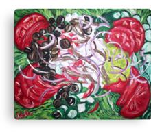 """""""Greek Salad"""" Canvas Print"""