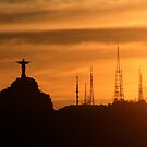Cristo Redentor and the new deciples. by Damian Kuczynski