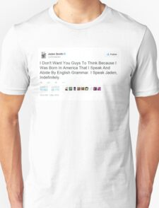 Jaden Smith's Twitter Is Everything Unisex T-Shirt