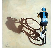 SIngle Focus - cycling art T-Shirt Photographic Print
