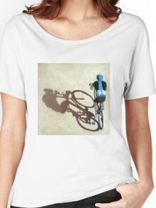 SIngle Focus - cycling art T-Shirt Women's Relaxed Fit T-Shirt