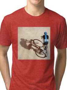 SIngle Focus - cycling art T-Shirt Tri-blend T-Shirt