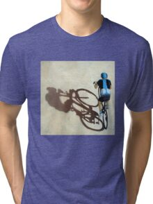 SIngle Focus - cycling art T-Shirt Tri-blend T-Shirt