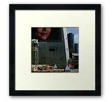 The Image Construction Framed Print