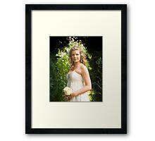 Becky the Bride Framed Print