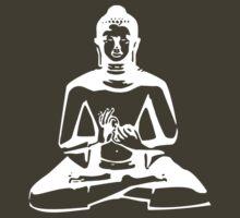 Buddha (White Print) by rudeboyskunk