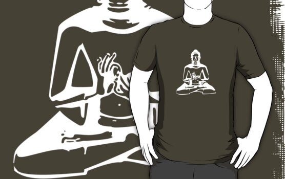 Buddha (White Print) by rudeboyskunk