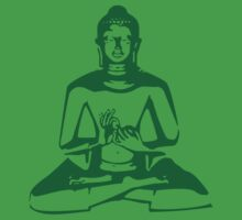 Buddha (Green Print) by rudeboyskunk