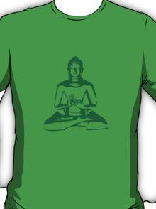 Buddha (Green Print) T-Shirt
