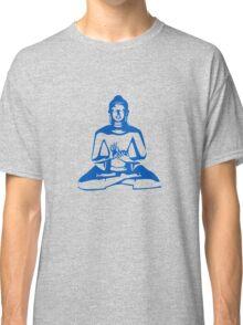 Buddha (Blue Print) Classic T-Shirt