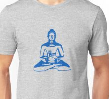 Buddha (Blue Print) Unisex T-Shirt