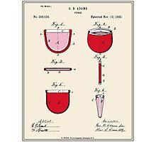 Purse Patent - Colour Photographic Print