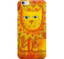 Patterned Lion iPhone Case/Skin