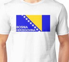 flag of bosnia herzegovina Unisex T-Shirt
