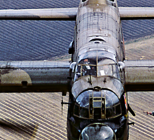 Lancaster B.1 up close and personal Sticker
