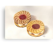 Jammy Dodgers Metal Print