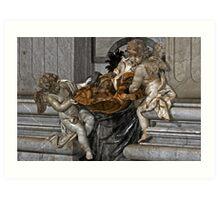Vatican Carving Art Print