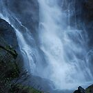 Ellenborough Falls NSW - Bottom Pool by Bev Woodman