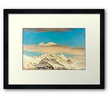Seward Highway, Alaska Framed Print