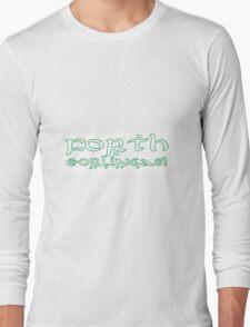 LotR Rohan battlecry Forth Eorlingas! Long Sleeve T-Shirt