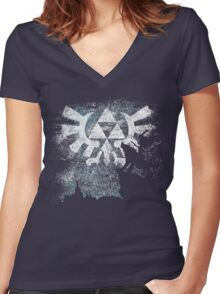 Twilight Women's Fitted V-Neck T-Shirt