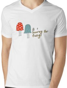 Fungi fun Mens V-Neck T-Shirt