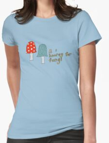 Fungi fun Womens Fitted T-Shirt
