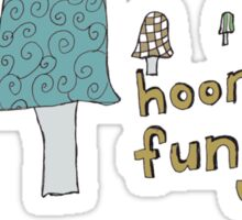 Fungi fun Sticker
