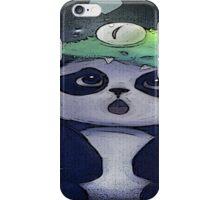 panda cute iPhone Case/Skin