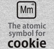 Atomic Symbol for Cookie Kids Clothes