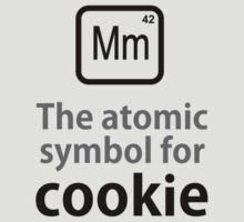 Atomic Symbol for Cookie by rudeboyskunk