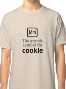 Atomic Symbol for Cookie Classic T-Shirt