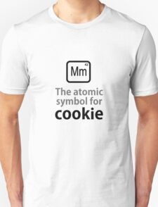 Atomic Symbol for Cookie Unisex T-Shirt