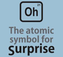 Atomic Symbol for Surprise