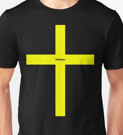 Helvetica / Vatican Hell Unisex T-Shirt