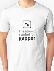 Atomic Symbol for Rapper T-Shirt