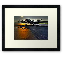 No Mission Tonight Framed Print