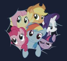 Mane Six Break Out! Kids Clothes