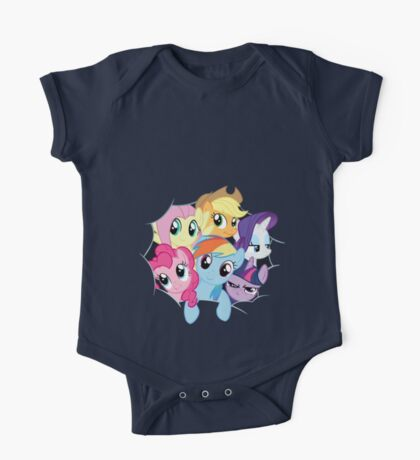 Mane Six Break Out! One Piece - Short Sleeve