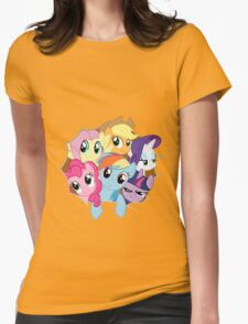 Mane Six Break Out! Womens Fitted T-Shirt