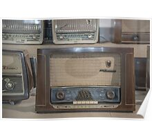 Old Radios Poster
