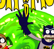 Rick and Morty Batman Reality Sticker
