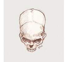 Tilted Skull - The Punisher Photographic Print