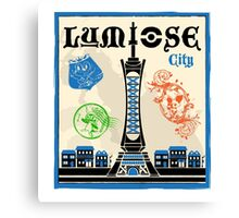 Lumiose City Canvas Print