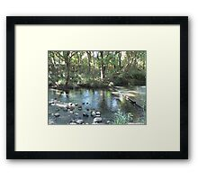 Reflections - Lansdowne River Framed Print