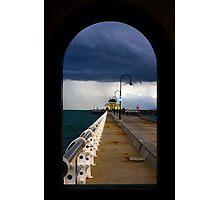 St Kilda beach Melbourne Photographic Print