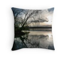 Mannum nights Throw Pillow